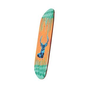 Marine ply skateboard deck provides a great surface for for Best paint for skateboard decks