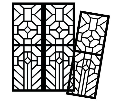 stained glass window templates for school art and craft. Black Bedroom Furniture Sets. Home Design Ideas