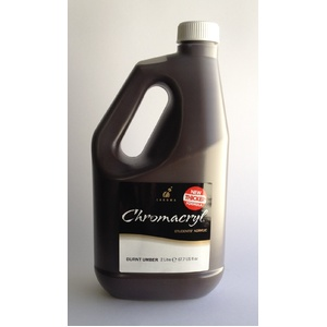 Chromacryl Acrylic Paint 2L Burnt Umber