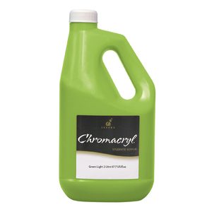 Chromacryl Acrylic Paint 2L Light Green