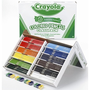Crayola Coloured Pencil Classpack of 240