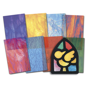 Stained Glass Craft Paper