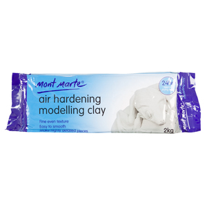 Air Dry  Modelling Clay 2kg White