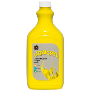 Liquicryl Acrylic Paint  2L Brilliant Yellow