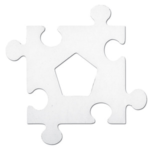 Picture Frame Puzzle Pieces
