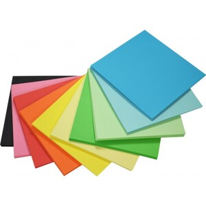 Matt Paper Squares 127 x 127mm double sided