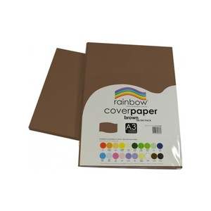 Brown Cover Paper 125gsm
