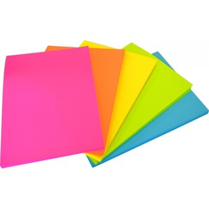 Assorted Fluoro Paper 80gsm