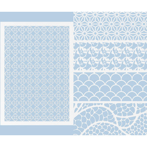 Laser Cut Sheets 5 Designs