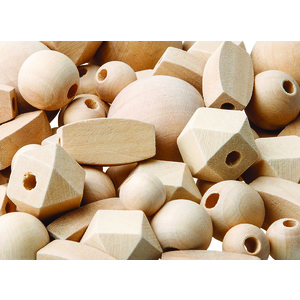 Assorted Wooden Beads