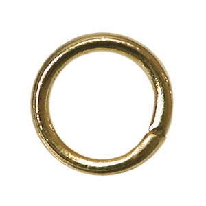 Jump Rings 10mm Gold