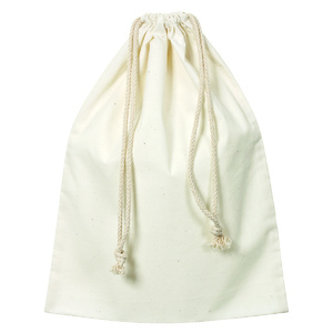 Calico Drawstring Library Bag
