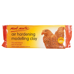 Air Dry  Modelling Clay 2kg Terracotta