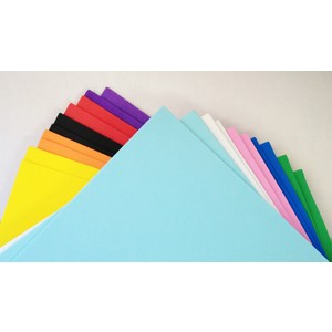 Foam Sheets Assorted Colours