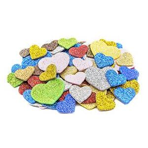 Little Foam Shapes - Glitter Heart