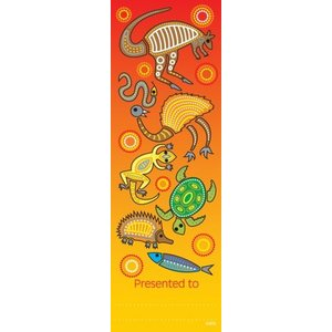Book Marks - Aboriginal Design