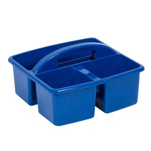 Small Plastic Caddy Blue