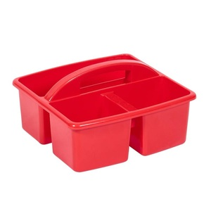 Small Plastic Caddy Red