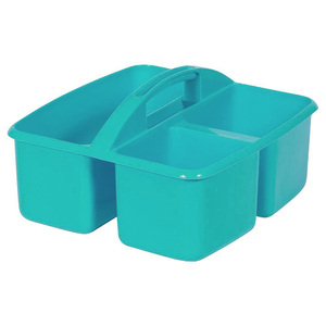 Small Plastic Caddy Teal
