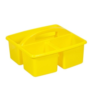 Small Plastic Caddy Yellow