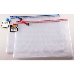 Clear Plastic Mesh Wallet