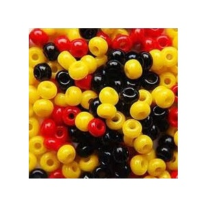 Plastic Pony Beads - Indigenous Colours